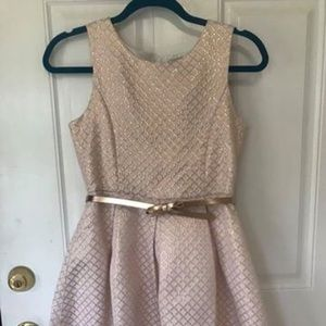 Size 14 The Children's Place Gold s/Less Dress